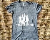 "Women's ""Take A Stand"" Kegstand Shirt - Large"