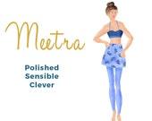 Women's PDF Sewing Pattern - Xs-XXL - Skirted Leggings - by Studio TKB