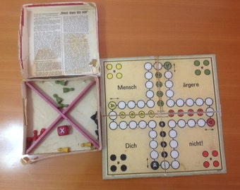 Vintage antique table toy game
