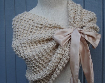 Wedding accessories, bridal accessories, wedding shawl, bridal shawl, knitted shawl,  knitting shawl, womens shawl, white wedding, wedding