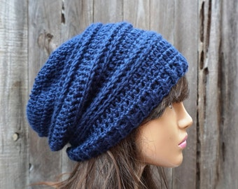 Crochet Hat - Slouchy  Hat  - Winter Accessories Autumn Accessories Fall Fashion
