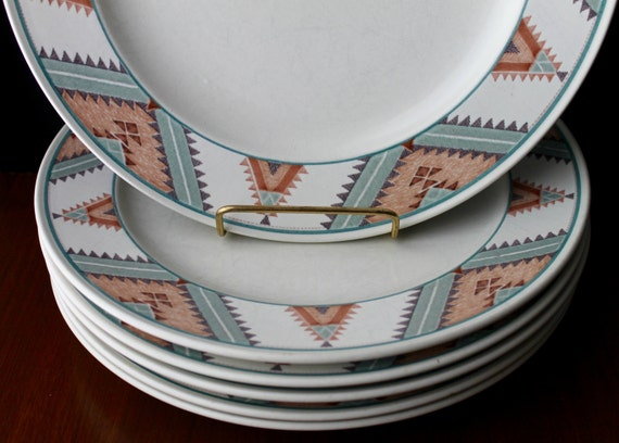 Mikasa Home Decor: Items Similar To Mikasa Santa Fe Dinner Plates South