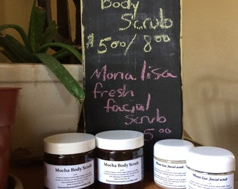 Mona lisa facial scrub  fresh scrub 2oz Special!