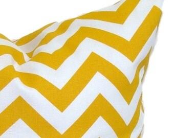Gold Pillow Sale. Gold Pillow.12x16 Inch.Pillow.Pillow Covers.Decorative Pillows.Housewares.Gold Outdoor.ZigZag Pillow.Golden Chevron
