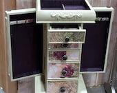 Repurposed Jewelry Armoire- Custom Made To Order