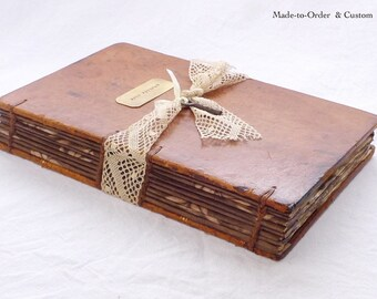 Custom Hollow Book Safe, Rustic Ring Box, Secret Safe, Wedding Ring Keepsake, Engagement, Secret Book Box, Stash Book, Upcycled Antique Book
