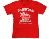 griswold family christmas shirt funny christmas vacation t-shirt holiday tis the season to be merry mens kids youth boys girl large xl 2x 3x