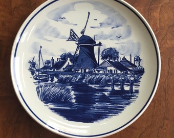 Delft Blauw Plate *Free Shipping*