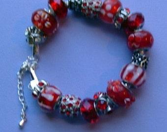 "7"" Big Beaded Bracelet"
