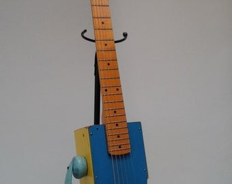 Epiphone Telephone Guitar Handmade Acoustic / Electric Antique Toy Real Guitar