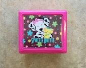 1994 SPOTTIE DOTTIE BOX - Sanrio // Hello Kitty // Plastic // Storage // Jewelry // Office // School // Collectible