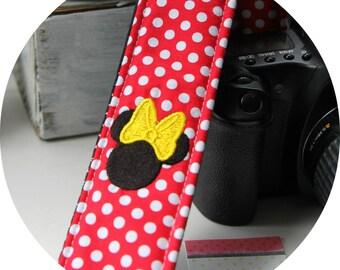 Sweet Minnie Camera Strap DSLR slr