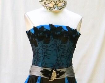 Ballroom Masquerade....The Black Peacock