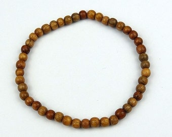 Bayong 4-5mm Wood Bead Bracelet