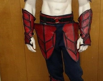 Leather Armor Barbarian Armor Set