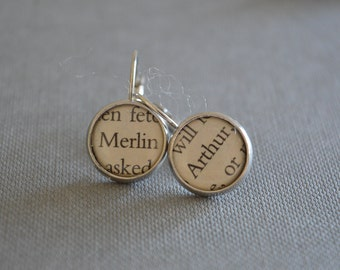 Merlin and Arthur Earrings