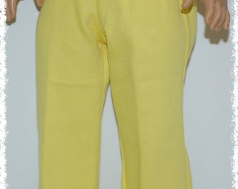 "18"" Doll Jeans  - Yellow (18"" Doll - American Girl Doll)"