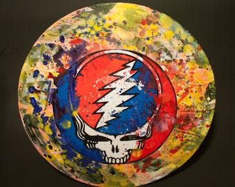 Grateful Dead Vinyl Record Artwork