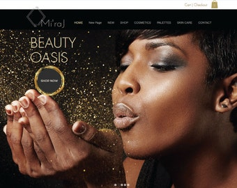Beauty Spa Custom Ecommerce Website Startup  Package