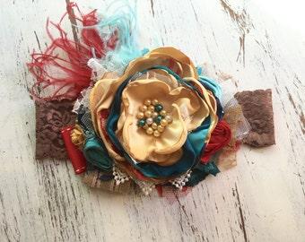 Baby Girl Headband- Matilda Jane Headband- Baby Headbands- Girl m2m Headband- Flower Girl Headband-