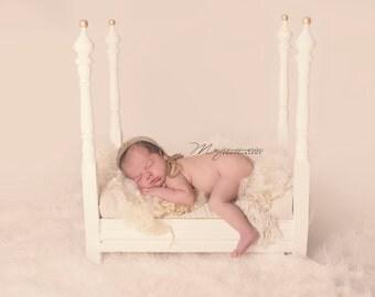 Newborn 4 poster prop bed