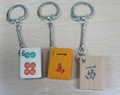 Mahjong key chain