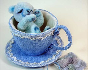 Tea time... tea service for you little princess ebook with pattern