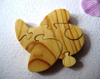 Toy Plane. Wooden toys, wooden puzzle, eco-friendly handmade toys for babies, children, kids, boys and girls
