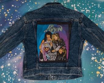 LEE Denim Jacket POISON Metal Men's Size L