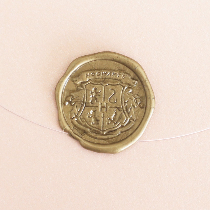 Harry Potter Wax Seal Stamp/ Hogwarts Crest Gryffindor by ...