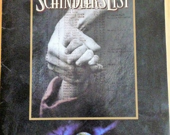 Movie press kit for Schindler's List, 1993.