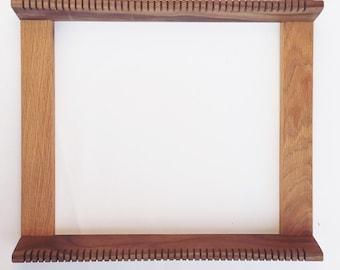 frame loom oakwalnut 15 x 15