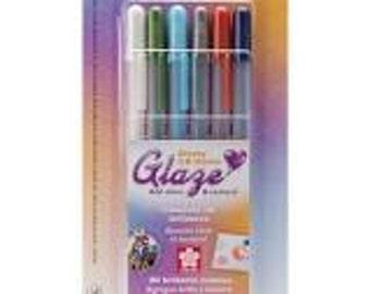 Gelly Roll Glaze Pens  6 Pens