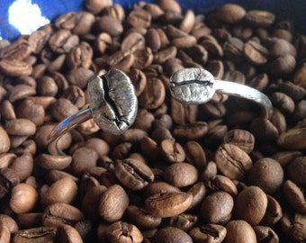 Coffee Bean Cuff