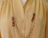 Umber Tones Necklace / Vt...