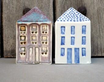 Miniature Houses,Porcelain Model Houses , Townhouses,  Architecture