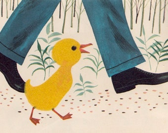 Patrick and the Duckling (A Golden Fuzzy Wuzzy Book) by Dorothy Haas, illustrated by Art Seiden