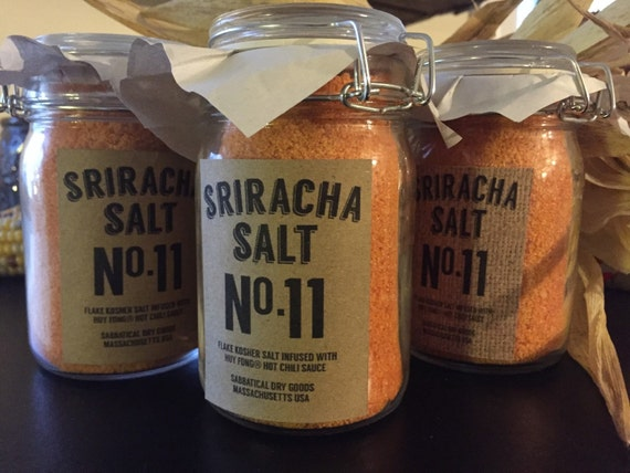 Spicy Sriracha Salt