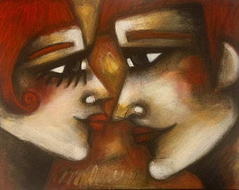 """Original Painting by emmy • """"Interconnection"""""""