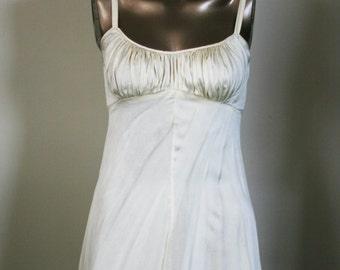 vintage juel park silk gown
