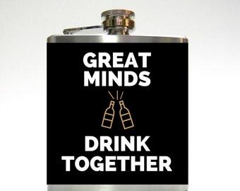 Great Minds Drink Together