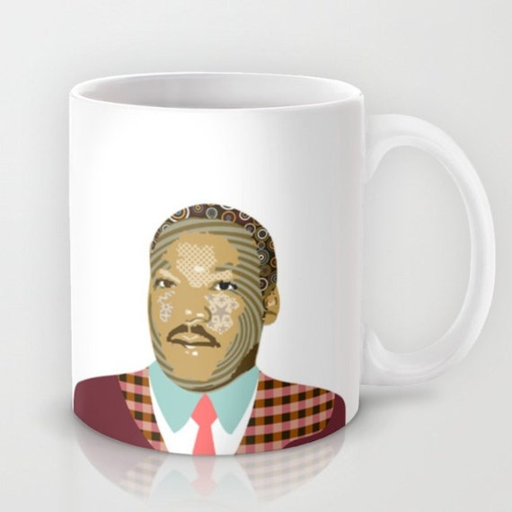 Martin Luther King Coffee Mug, Black History Month, Civil Rights Black Nationalism Unity African American Gift, Human Rights Activism