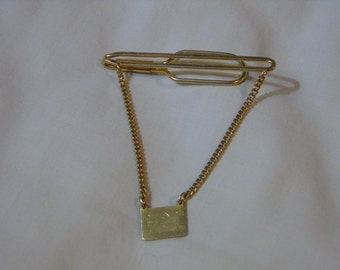 antique early 20th century gold filled tie bar