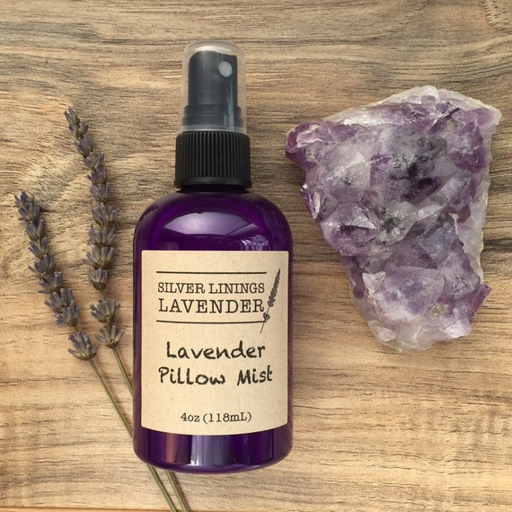 Lavender Pillow Mist / Natural Sleep Aid / Aromatherapy Mist for Sleep / Lavender Mist for Pillows / Natural Sleep Aromatherapy