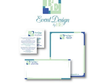 Print Marketing - Business Branding, includes Custom Logo Design, Business Card, Letterhead and Envelope Design