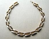 Vintage Choker Necklace - Gold Tone Choker - 16 Inch Necklace - Chunky Gold Necklace - Bold Gold Necklace