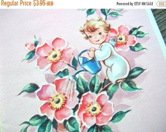 July Sale 50s Note Cards - Vintage Note Cards - Vintage Ephemera - Unused - Cute Note Cards - 50s Vintage Cards