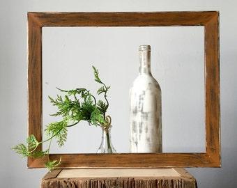 Rustic Wood Frame - 11x14 Frame - Distressed Frame - Primitive Frame