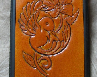IPhone 6 Leather Case Hummingbird Inlaid Cover
