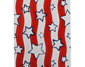 "10"" x 13"" Stars & Stripes FLAT POLY MAILERS; Approved Shipping Mailers,  (100 Pack) Self Sealing Poly Mailers, Lightweight Poly Mailers"